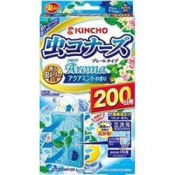 金鳥・KINCHO(キンチョー) 虫コナーズアロマ プレートタイプ 200日 アクアミントの香り N