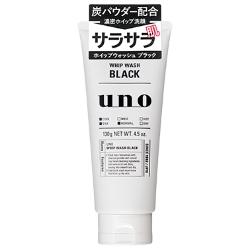 【新商品】SHISEIDO(資生堂) UNO(ウーノ) ホイップウォッシュ(ブラック) 130g