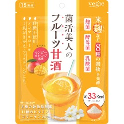 <海外専用>vegie(ベジエ) 菌活美人のフルーツ甘酒