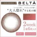 BELTA(ベルタ) 2Week カラーコンタクト ピュアブラウン 6枚 ±0.00
