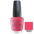 OPI ネイル ラッカー 15ml 【 M23 - Strawberry Margarita 】 < 容器傷あり >