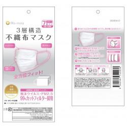 Mo-moia3層不織布マスク(女性・子供用)7枚入り