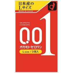 【スポット】オカモトゼロワン L サイズ 3個入