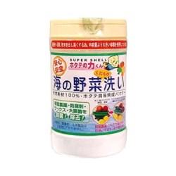 【即納】 日本漢方 ホタテの力くん 海の野菜・果物洗い 90g